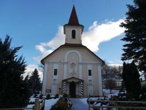 Farnosť Dobroč - Kostol